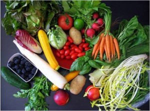 Les aliments biologiques ajoutent de la vie et de la santé