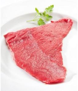 Steak de bœuf biologique