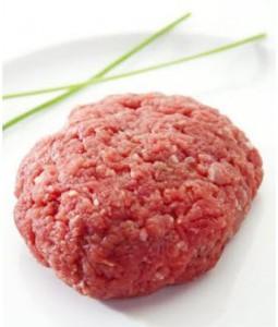 Viande de veau hachée