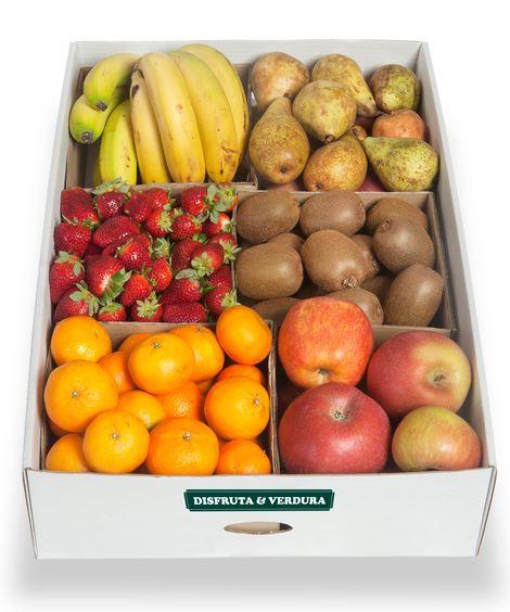 Boîtes et corbeilles de fruits pour le bureau