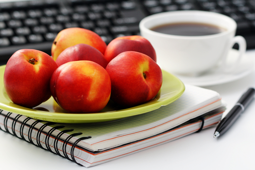 fruits au bureau