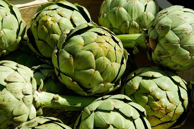 Légumes d'hiver - Artichaut